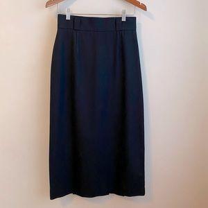 CONDOR Vintage Black long pencil skirt